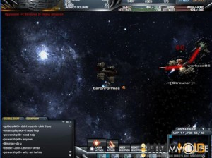 free science fiction online multiplayer game