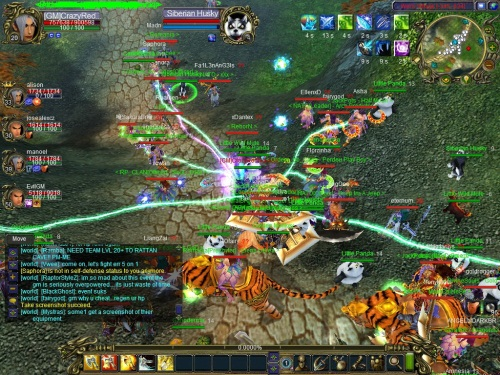 cooperative gameplay mmorpg